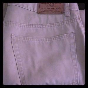 Men's Banana Republic Button Fly Jeans 35R